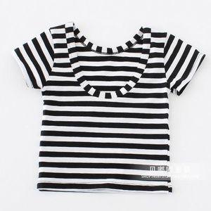 Other - Black & White Striped Tee